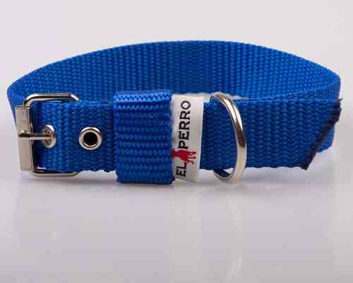 El Perro Juicy Halsband 2,5cm Royal Blue